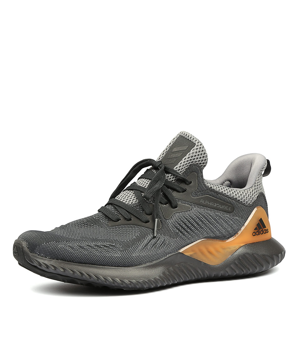 the latest f39d6 4e5f6 ALPHABOUNCE BEYOND MENS GREY CARBON GRE SMOOTH by ADIDAS NEO - at  Styletread