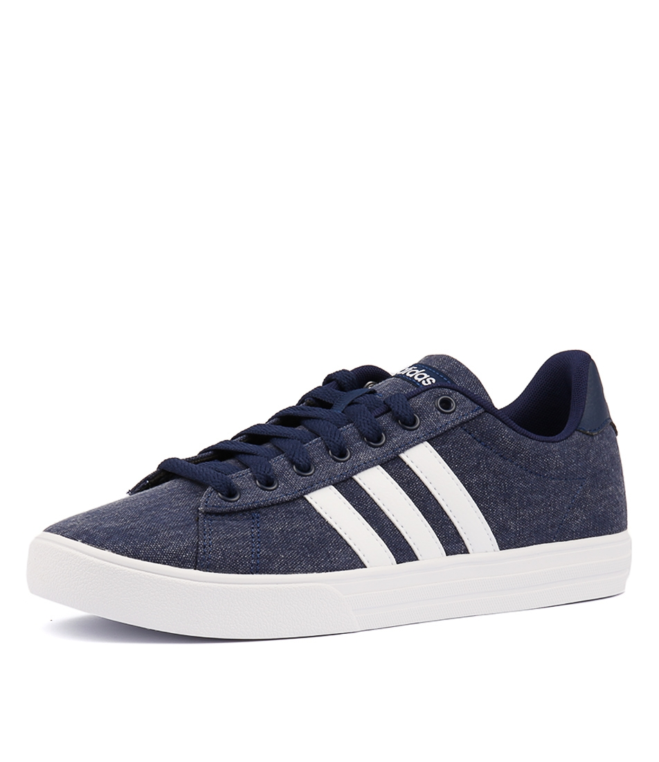 094fb364efa599 DAILY 2.0 BLUE WHITE SMOOTH by ADIDAS NEO - at Styletread