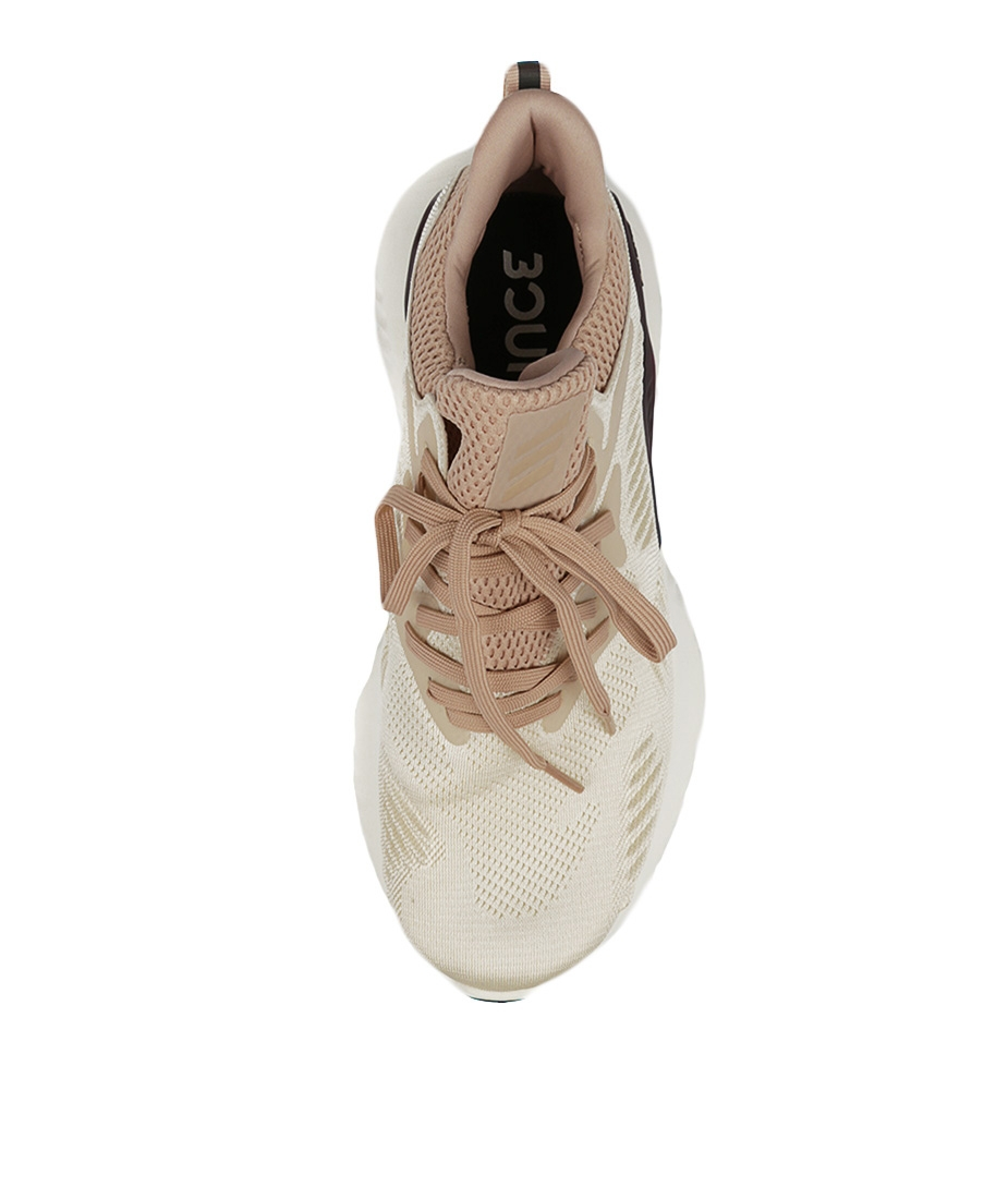 ecbab96ca ALPHABOUNCE BEYOND ECRU PEARL WHIT SMOOTH by ADIDAS NEO - at Styletread