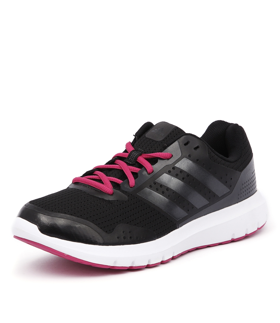 47fbbddb5d96a6 DURAMO 7 BLACK PINK SMOOTH by ADIDAS PERFORMANCE - at Styletread