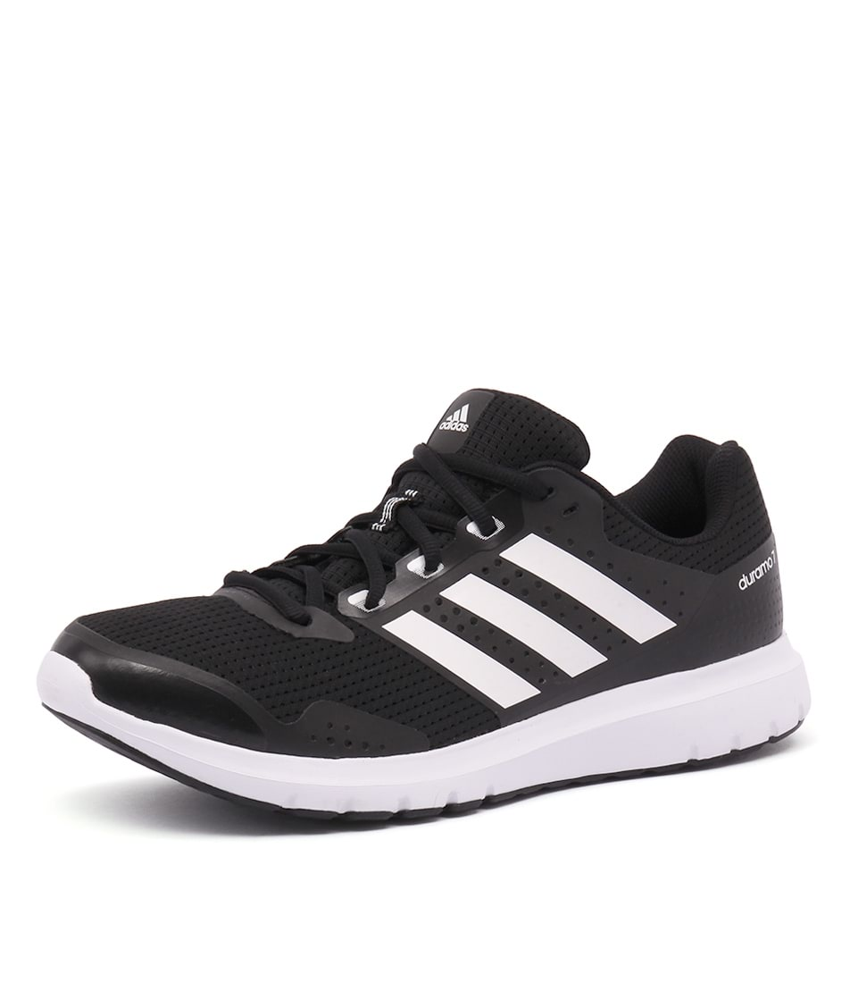 buy popular 4a468 98665 DURAMO 7 MENS BLACK WHITE SMOOTH by ADIDAS PERFORMANCE - at