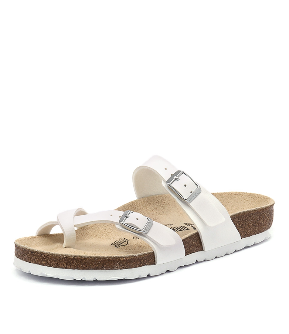 d2cd51f6f95 MAYARI WHITE BIRKOFLOR by BIRKENSTOCK - at Styletread