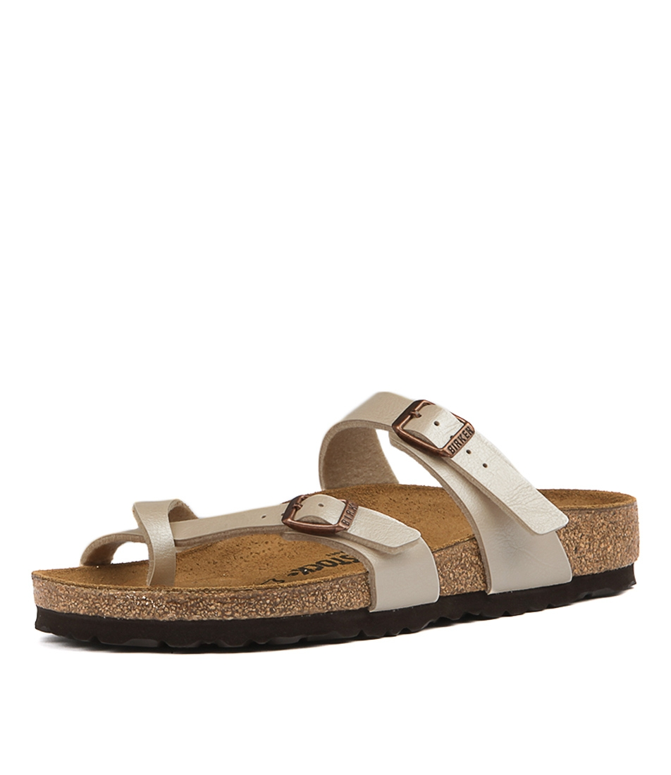 254f14c9890 MAYARI PEARL WHITE BIRKOFLOR by BIRKENSTOCK - at Styletread