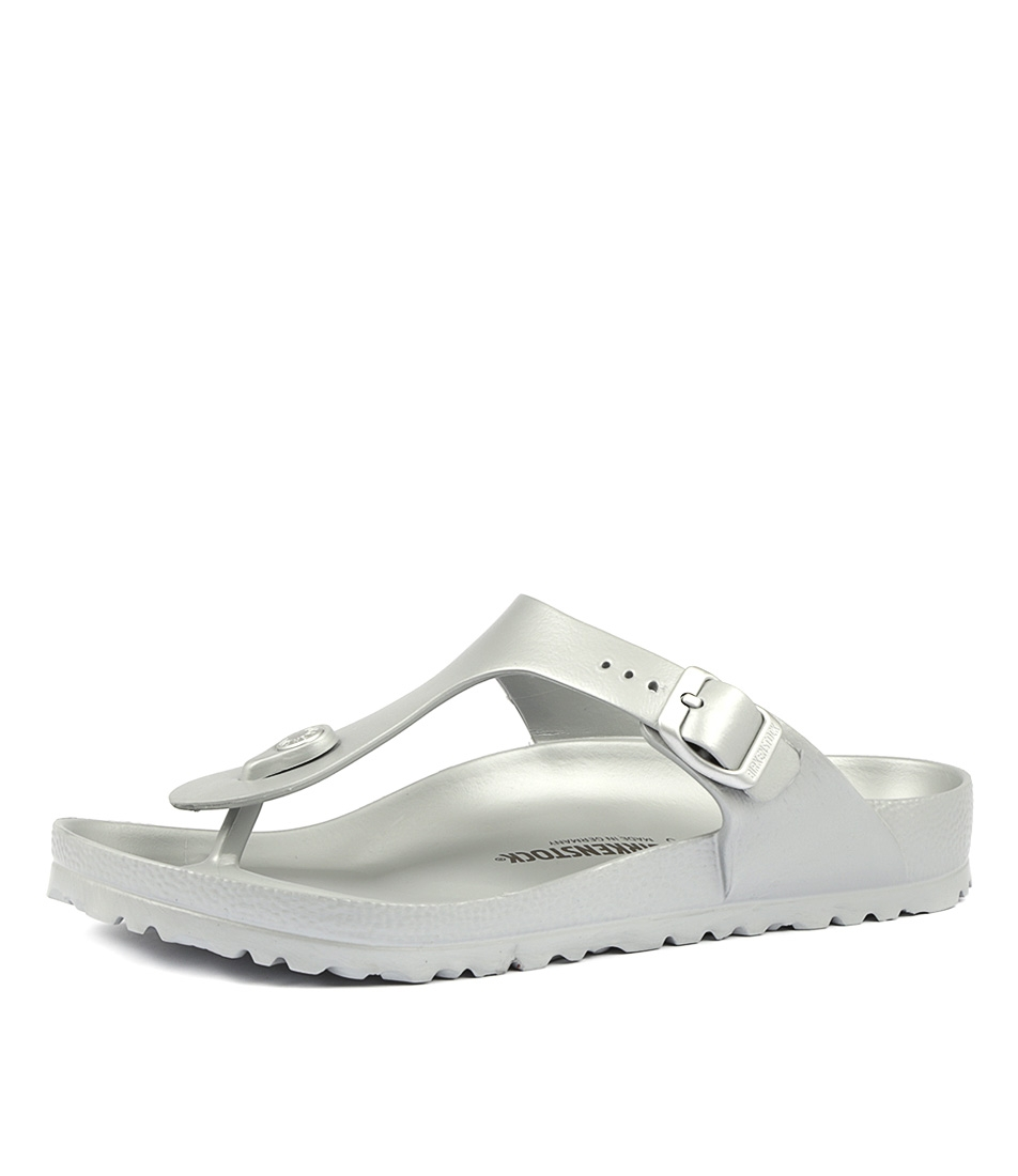 563f72884 GIZEH EVA METALLIC SILVER by BIRKENSTOCK - at Styletread
