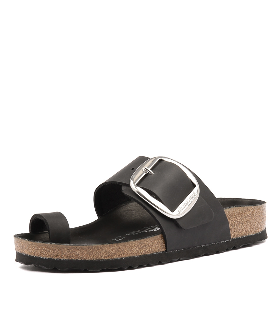 df00e52a8b4a MIRAMAR BIG BUCKLE BLACK OIL LEATHER by BIRKENSTOCK - at Styletread