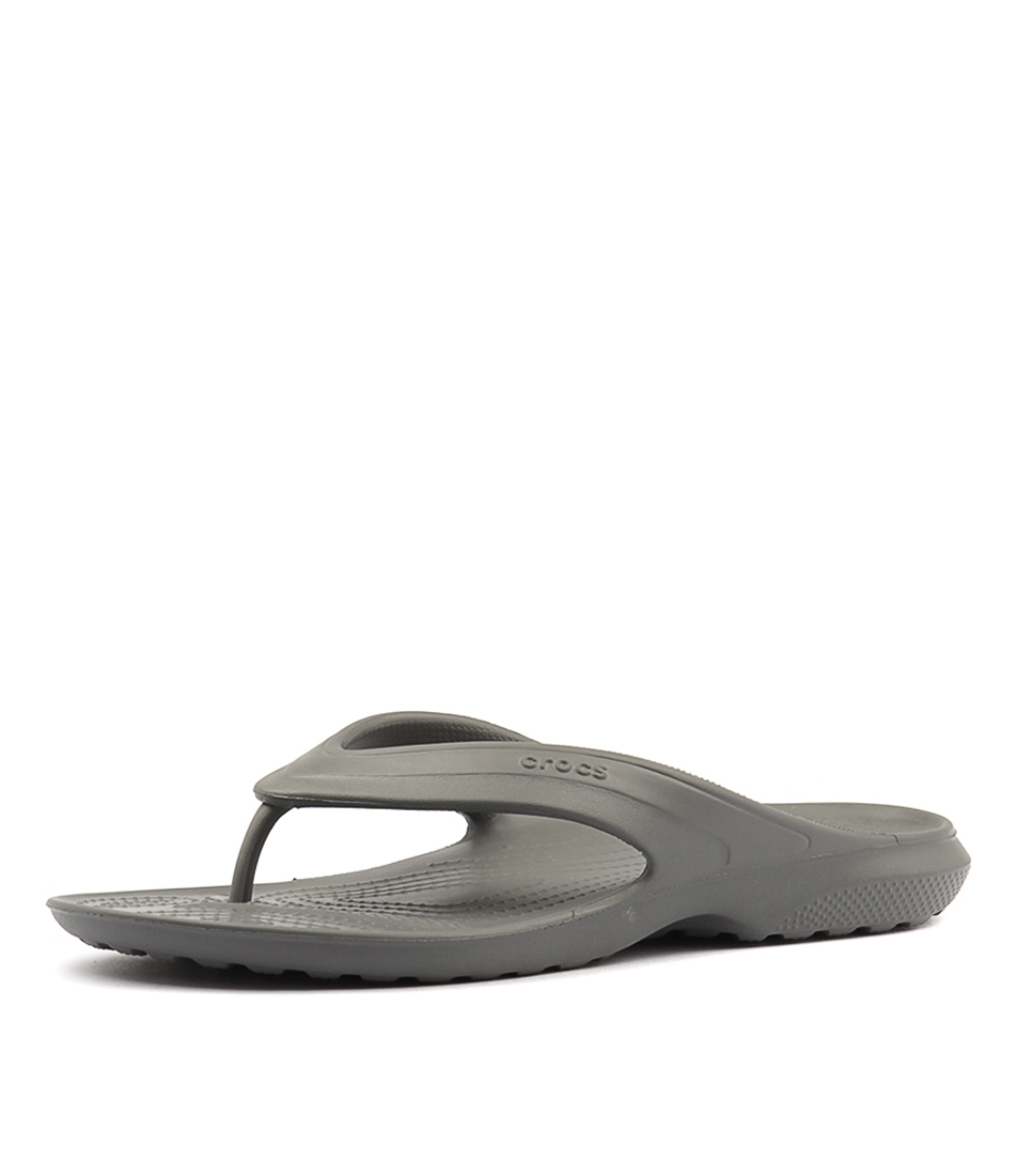 369392d8be8c83 CLASSIC FLIP SLATE GREY SMOOTH by CROCS - at Styletread NZ