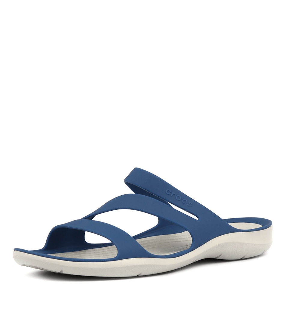 05c9dcc9ed22 SWIFTWATER SANDAL BLUE JEAN PEARL SMOOTH by CROCS - at Styletread NZ