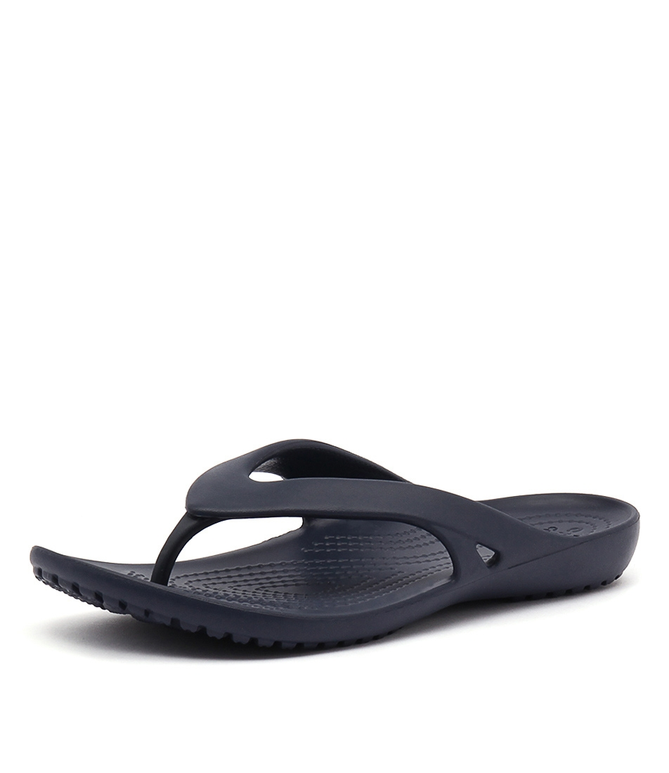 962212ea08563d KADEE II FLIP NAVY CROSLITE by CROCS - at Styletread
