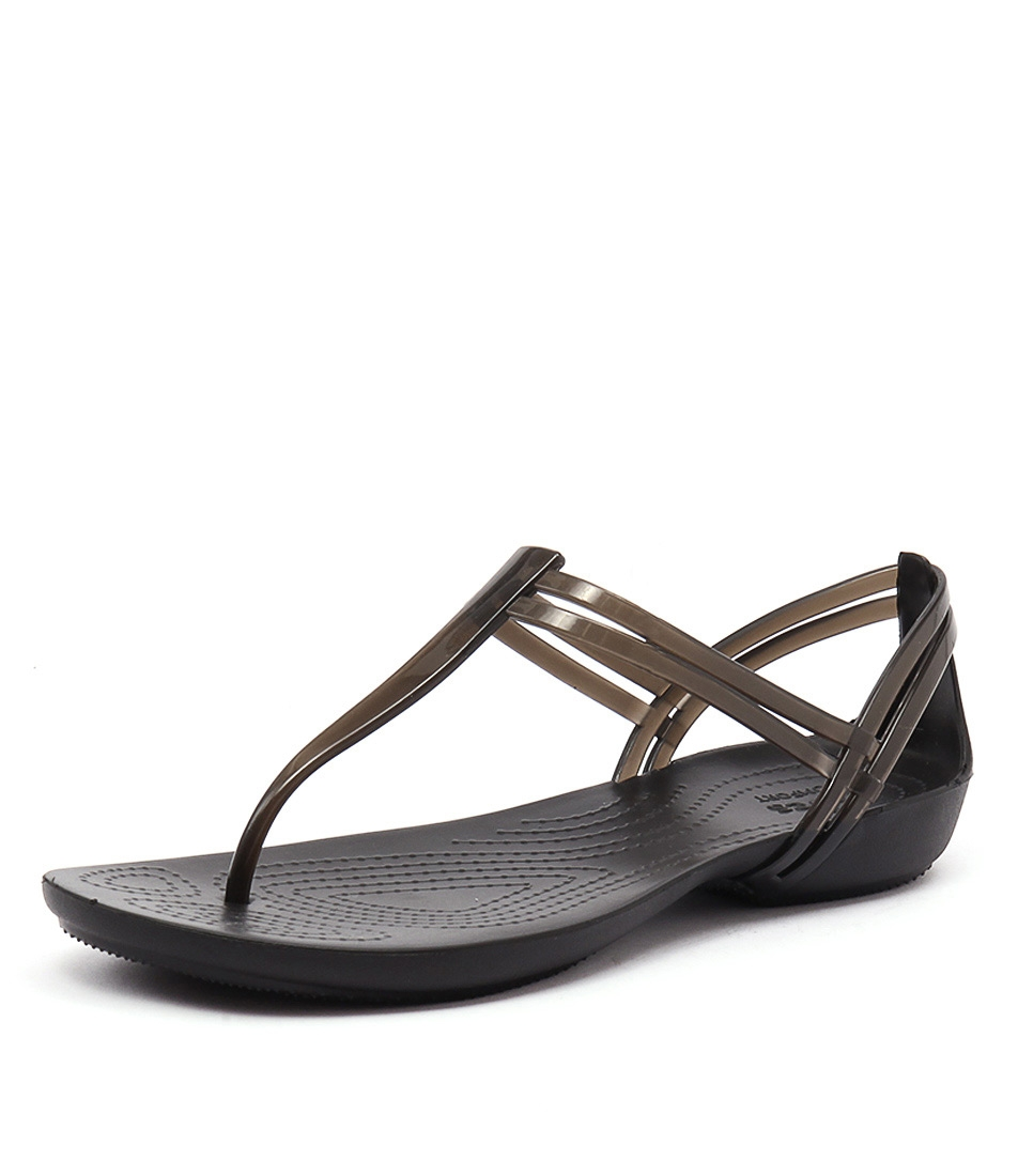2994aaf85993 ISABELLA T STRAP BLACK CROSLITE by CROCS - at Styletread NZ