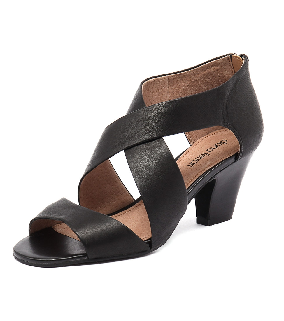 8f41640d77c5 QUEENA BLACK LEATHER by DIANA FERRARI - at Styletread