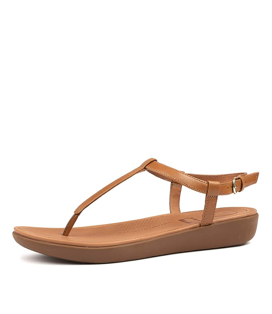75af38acd5cf TIA TOE THONG CARAMEL LEATHER by FITFLOP - at Styletread
