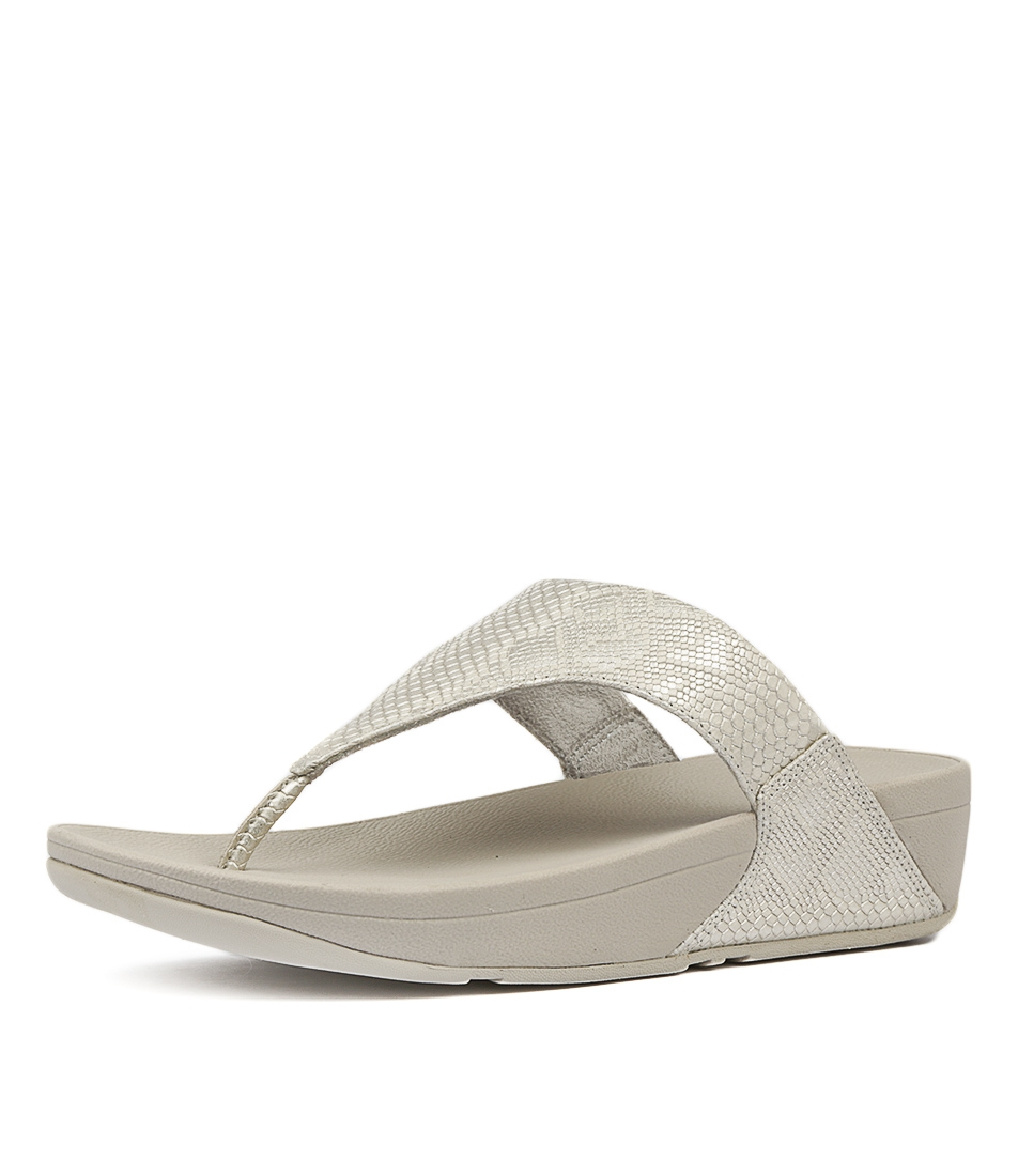 77e622495 EXOTIC LULU TOE THONG URBAN WHITE LEATHER by FITFLOP - at Styletread NZ