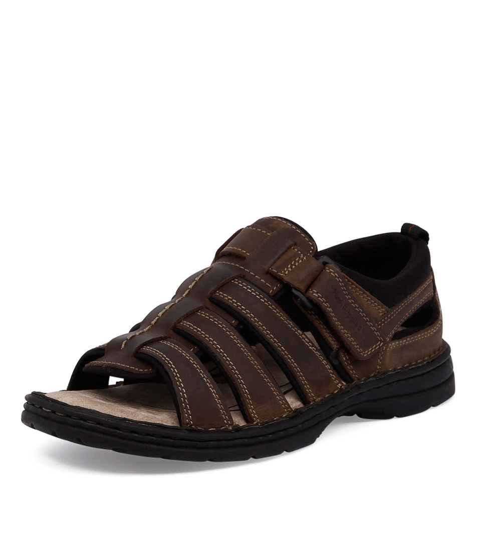 a36f7cb496e SPARTAN WIDE BROWN LEATHER by HUSH PUPPIES - at Styletread