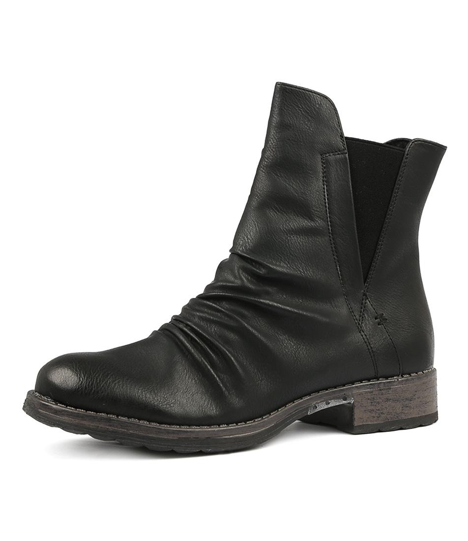5659d90e8 ELLA W BLACK SMOOTH by LOS CABOS - at Styletread