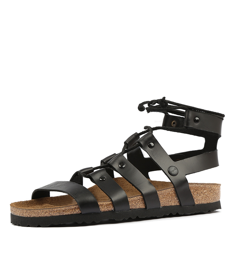 b4ce7a59739 CLEO PB BLACK LEATHER by PAPILLIO BY BIRKENSTOCK - at Styletread