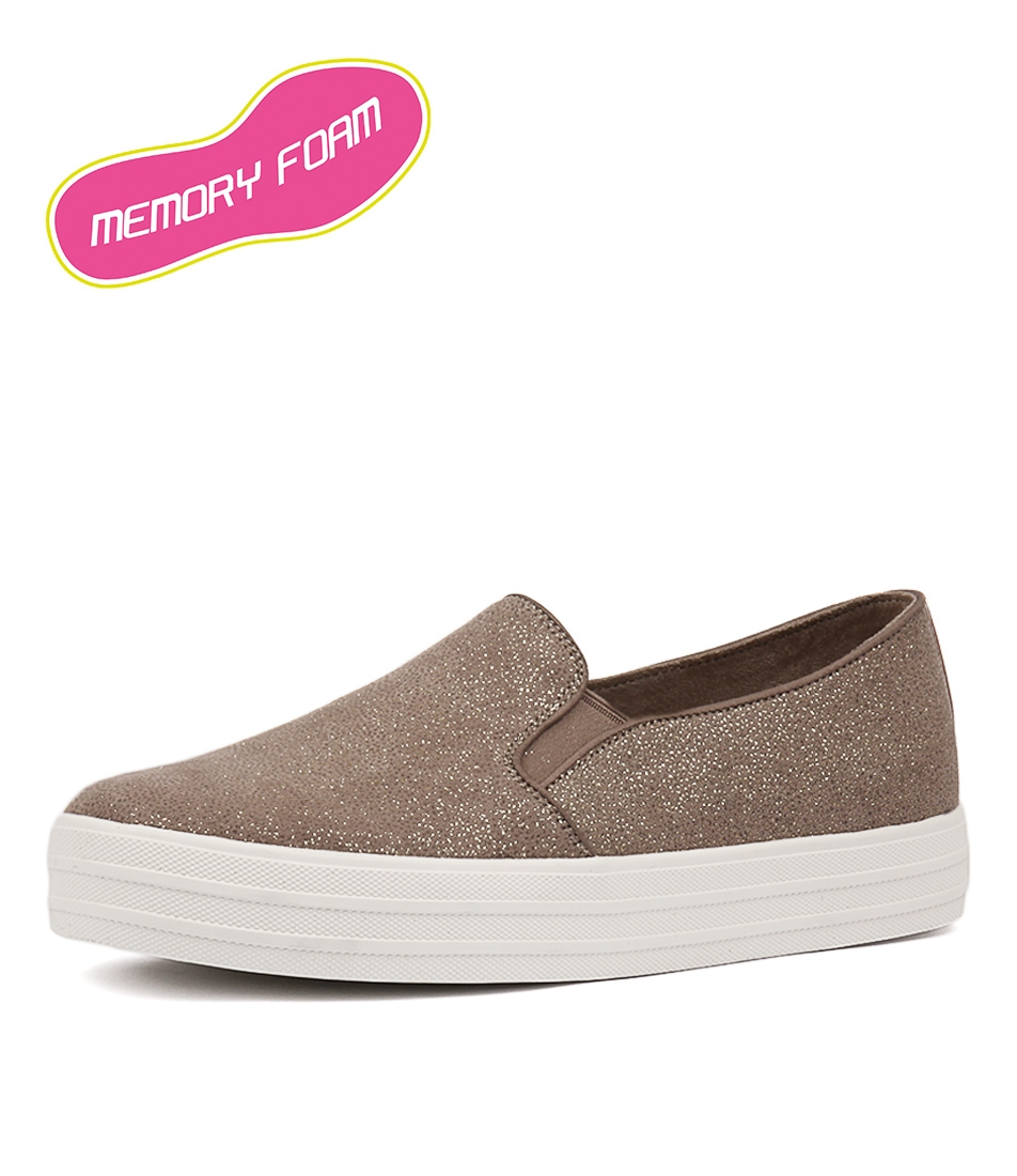 9ca3e325ea0d 794 DOUBLE UP TAUPE-GOLD by SKECHERS - at Styletread NZ