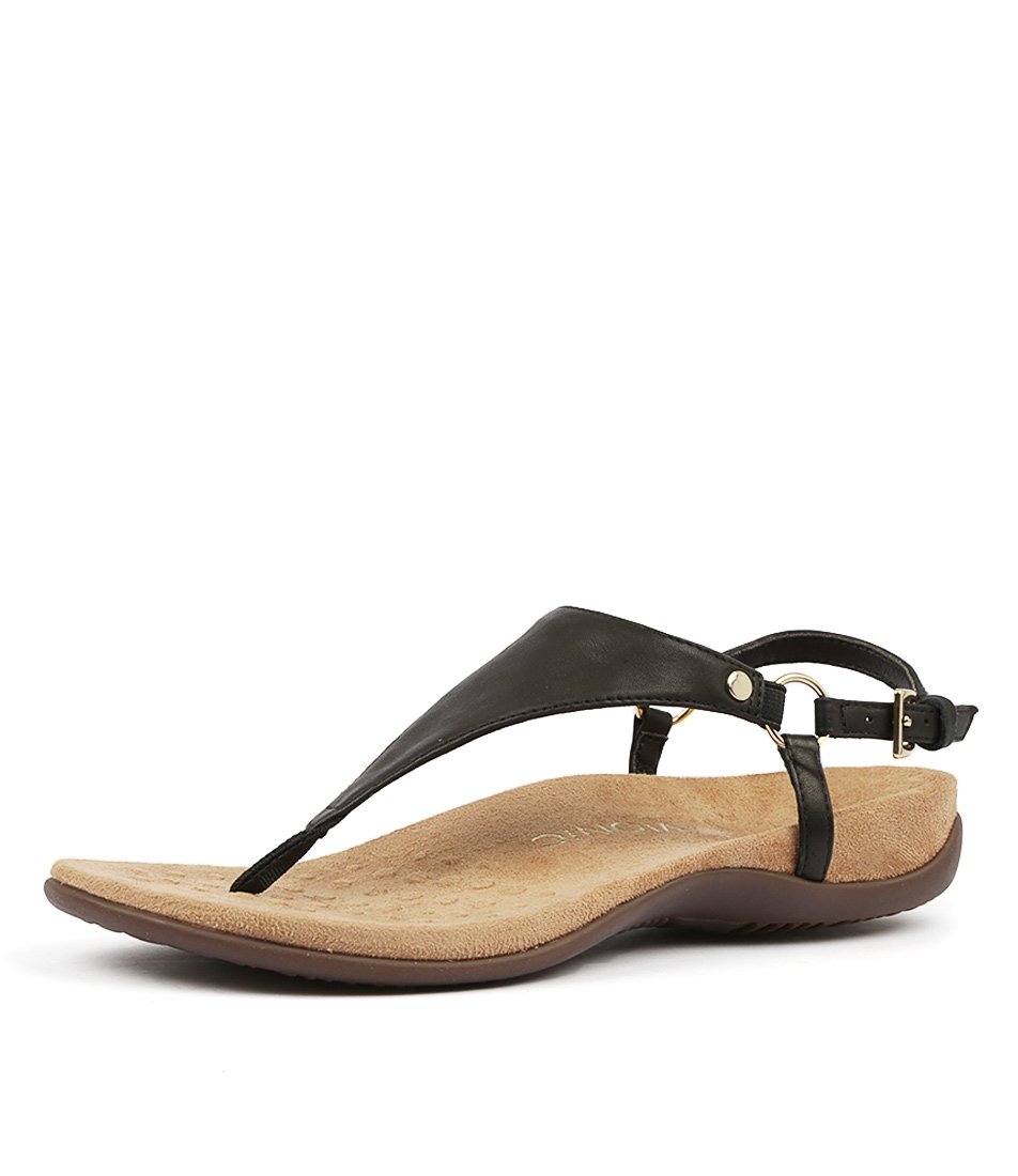 88ad51348a REST KIRRA BLACK LEATHER by VIONIC - at Styletread NZ