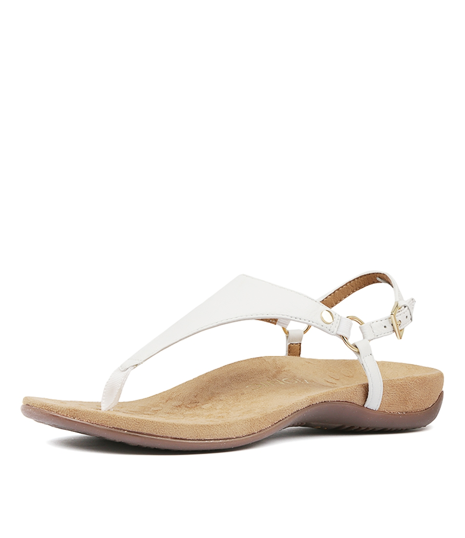 9536afa8fd27 REST KIRRA WHITE LEATHER by VIONIC - at Styletread NZ