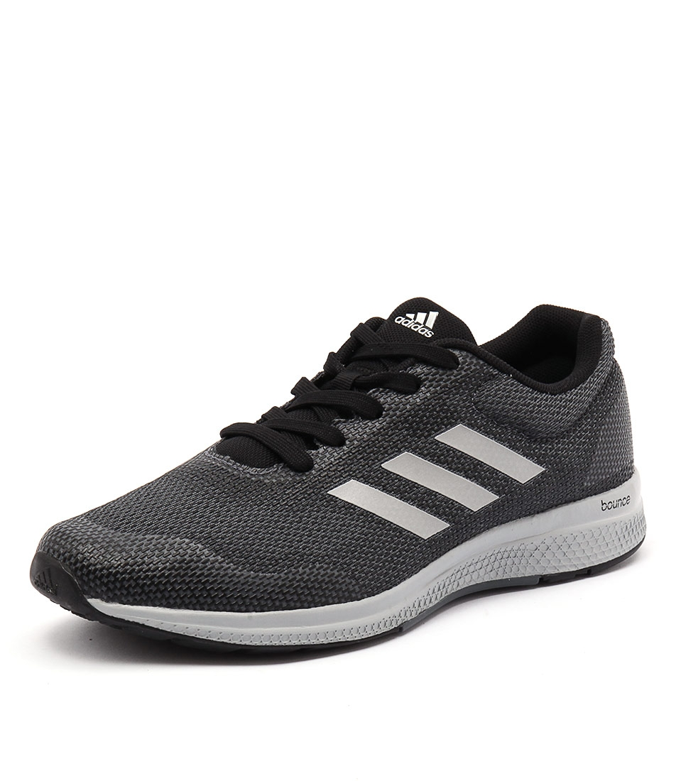 afdf15bca45d1 MANA BOUNCE 2 BLACK SILVER ON FABRIC by ADIDAS PERFORMANCE - at Styletread  NZ