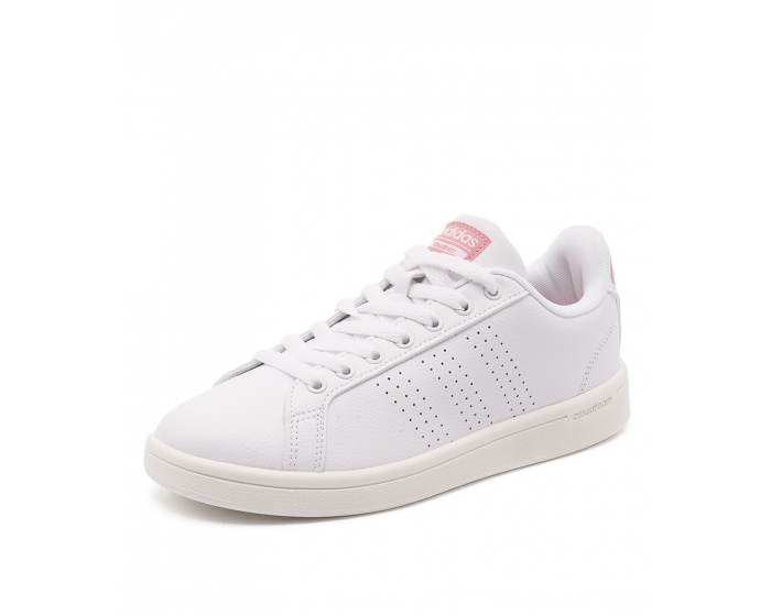 CLOUDFOAM ADVANTAGE WHITE WHITE PIN TEXTURED FABRIC by ADIDAS NEO - at  Styletread f97aa3ce0