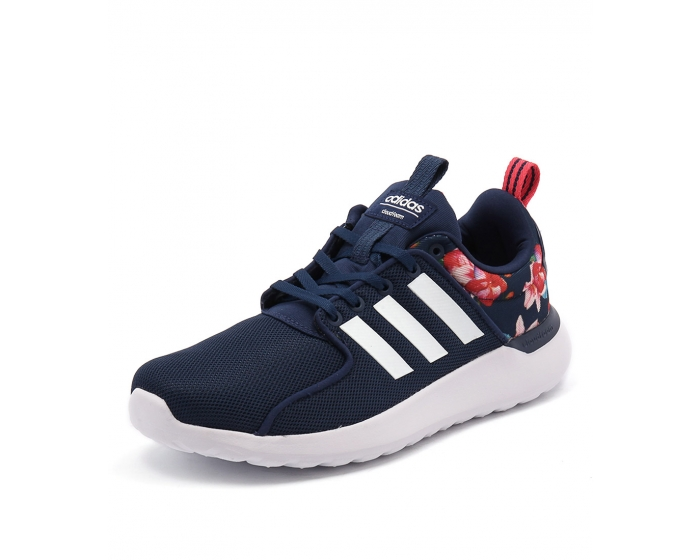 a3d5d6cc992 CLOUDFOAM LITE RACER BLUE WHITE RED TEXTURED FABRIC by ADIDAS NEO - at  Styletread