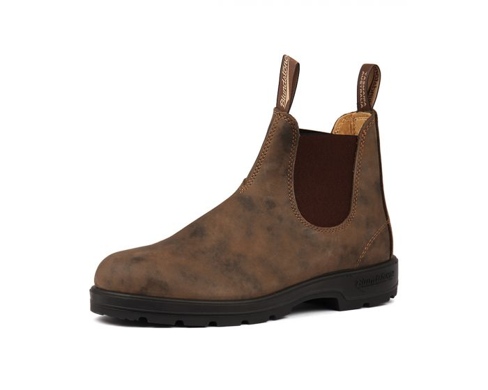 bca0f8d41e90 585 MENS BOOT RUSTIC BROWN LEATHER by BLUNDSTONE - at Styletread NZ