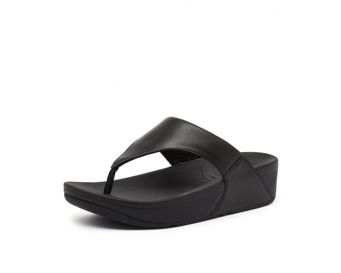 7f3acc2cf LULU BLACK LEATHER by FITFLOP - at Styletread